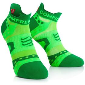 Compressport Pro Racing Ultralight Run Low Socks Green